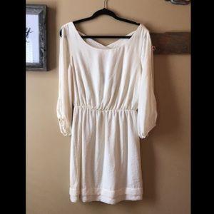 MACY'S winter white ❄️ cocktail dress